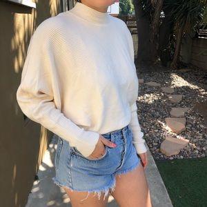NWOT Zara Cream Knitted Sweater
